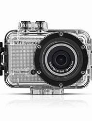Mini Waterproof Diving WiFi Camcorder Action Camera Sports Gadgets Helmet Moving Camera Outdoor Sports DV HD 1080P