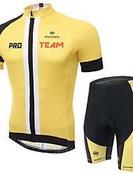 Bike/Cycling Jersey + Pants/Jersey+Tights / Clothing Sets/Suits Unisex Short SleeveBreathable / Quick Dry / Static-free / Compression /