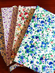 Floral Cotton Cloth Cover Note Book