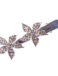 Women/Flower Girl Alloy Barrette With Rhinestone Wedding/Party Headpiece