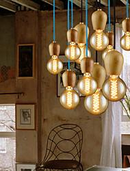 lustres maishang® estilo mini moderna sala de estar / contemporâneo / quarto / sala de jantar / sala de estudo / escritório madeira / bambu