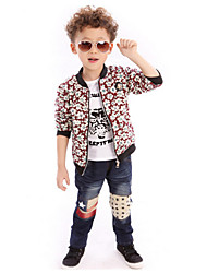 Boy's Acrylic/Cotton/Cotton Blend/Spandex Jacket & Coat , Summer Short Sleeve