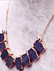 New Arrival Women's Fashional Geometric Scrub Necklace