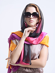 Women's Protect Against Sunshine Summer Beach Scarves Work/Casual Polyester/Silk Scarves