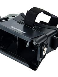 """la realidad 3D y video gafas universales virtuales para 3.5 '' - 6 """"smartphones-negro (segunda generación)"""