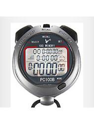cronometro elettronico timer pc100b tre fila 100 memoria movimento cronometro cronometro