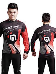 Coolchange Men's Long Sleeve Spring/Autumn Cycling Suits/Compression Suits Pants