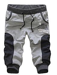MEN - 1/2 Pants - Informale Misto cotone