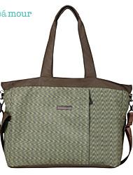 Bebamour Diaper Bag Large Hand Bag Green Unisex Tote Bags
