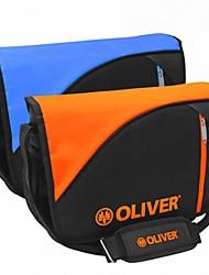 синий / оранжевый отдых концепции мешок линия