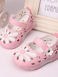 Baby Shoes - Tempo libero / Casual - Sandali - Finta pelle - Giallo / Rosa / Rosso