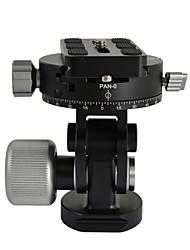 """mengs® vh-10 panoramique à 360 ° rotule avec 3/8 """"et 1/4"""" caméra vis plaque de dégagement rapide pour trépied monopode"""