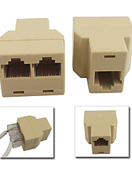RJ45 CAT5 6 сетевой кабель LAN порт 1 до 2 розетки разъем сплиттер адаптер