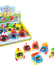 veicoli giocattolo tirare indietro set giocattoli motore fuoco cartone animato