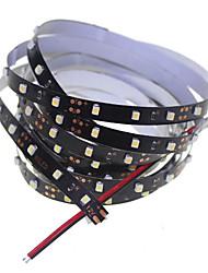 SENCART 2 M 120 3528 SMD Blanc Découpable/Intensité Réglable/Connectable/Pour Véhicules/Auto-Adhésives 10 Bandes Lumineuses LED