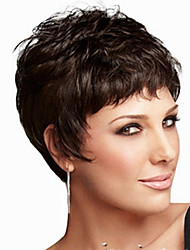 Fashion Personality Short Black Wig