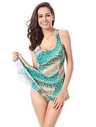 Free Shipping Fashion Designer 2015 Newest Vintage Allover Print Push Up Big Plus Size Swimwear XXXL
