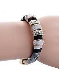 Bracelet Bracelets Rigides Alliage Soirée / Quotidien / Décontracté Bijoux Cadeau Bleu foncé / Noir et Blanc,1pc