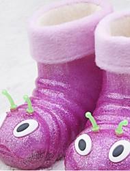 Children's Shoes Casual Rubber Rain Boots Purple