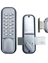 Double Door Glass Door Mechanial Keyless Entrance Door Lock