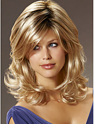 High Quality Capless Long Mono Top Human Hair Wigs 7 Colors to Choose