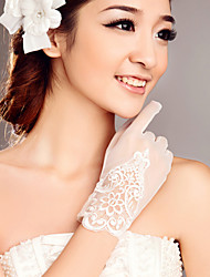Tulle Wrist Length Wedding/Party Glove