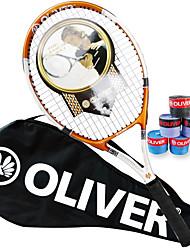 Las raquetas de tenis ( Naranja , Aleación de aluminio y carbono ) - Impermeable/Buena aerodinámica/Alta elasticidad/Durabilidad