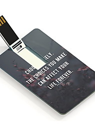 16GB Choose Wisely Design Pattern Card USB Flash Drive