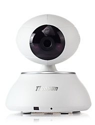 Tiensun 720P Wireless Network  Camera Baby Monitor WIFI  IP Camera w/Night Version-White