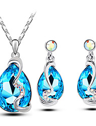 Women's Alloy Jewelry Set Crystal / Rhinestone