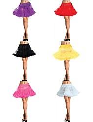 Slips A-Line Slip/Ball Gown Slip Short-Length 2 Tulle Petticoat