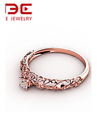NBE Sterling Silver/Zircon Vintage Ring Midi Rings/Band Rings/Statement Rings Wedding/Party/Daily/Casual/Sports 1pc