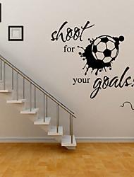 наклейки наклейки для стен стиль стрелять для целей английские слова&цитирует наклейки ПВХ стены