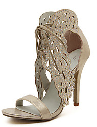 Women's Shoes Stiletto Heel Heels Sandals Dress/Casual Silver/Gold