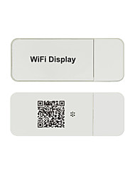 Personalized QR Code HDMI WiFi Display Receiver for Smartphone/Tablet PC with Miracast、DLNA or Airplay Support