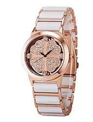 Ladies'  Wrist Watch High-Grade Good Quality Ceramic Belt Quartz Analog Fashion Watch Wrist Watch