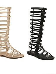 Women's Shoes  Low Heel Heels Sandals Outdoor/Casual Black/Gold