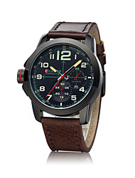 CURREN®Men's Watch Fashion Watch Leather Band Wrist watch Cool Watch Unique Watch