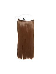 """1pc / lot 8 """"-30"""" Flip-in Haarverlängerungs-brasilianisches reines Menschenhaar 100g / pc silk glattes Haar # 1b, # 2, # 4, # 6, # 33, #"""