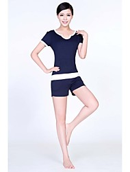 Running Tank / Clothing Sets/Suits Women's Half SleeveBreathable / Ultraviolet Resistant / Quick Dry / Anatomic Design / Antistatic /