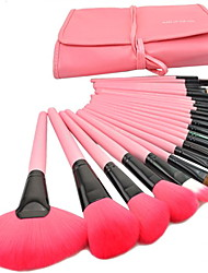 Brushes Makeup 24pcs Set Brushes Set Tools Portable Full Cosmetic Brush Tools Makeup Accessories