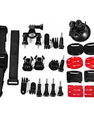 6 en 1 accessoires costume pour GoPro hero4 / 3 + / 3/2/1 / sj4000 / sj5000 / sj6000