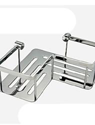 Gadgets de salle de bain - Contemporain - Chromé - Pliable