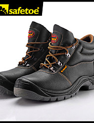 Men's Shoes Outdoor/Work Shoes Leather Boots Brown