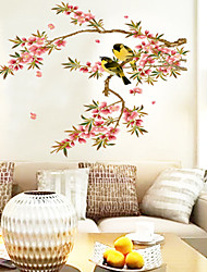 Wall Stickers Wall Decals Style Look Very Happy PVC Wall Stickers