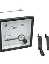 переменного тока от 0 до 300В аналогового напряжения вольт вольтметр щитовой