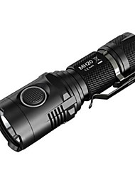 NITECORE MH20 Flashlight 1000 Lumens Mini Portable Palm-sized Rechargeable spotlight 18650 Battery