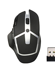 Wireless-Gaming-Maus 2400dpi 8 Tasten LED optische Maus