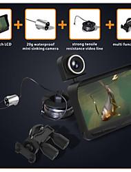 """4.3 """"LCD couleur 600TV lignes finder hd poissons du système de caméra sous-marine"""