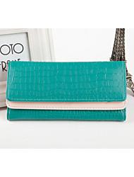 Korean Fashion Double Flip Stone Pattern Handbag Multifunction Ms. Long Wallet Women Wallet